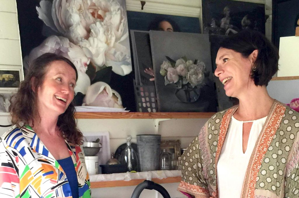 Anne-Marie Ellis with Caroline Richardson